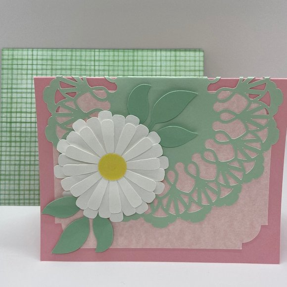 Daisy Flower Card for any special Occasion